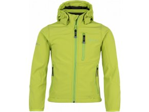Chlapecká softshellová bunda KILPI ELIO-JB zelená