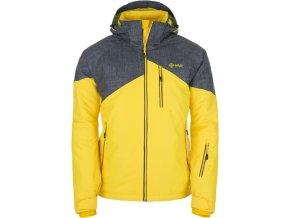 Pánská lyžařská bunda KILPI OLIVER Světle šedá