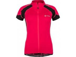 Dámský cyklistický dres KILPI FLASH-W Růžová