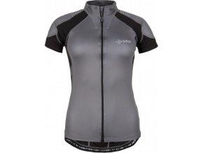 Dámský cyklistický dres KILPI FLASH-W Černá