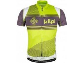 Pánský cyklistický dres KILPI VELOCITY-M Světle zelený