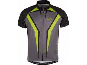 Pánský cyklistický dres KILPI CHAMPION-M Tmavě šedá