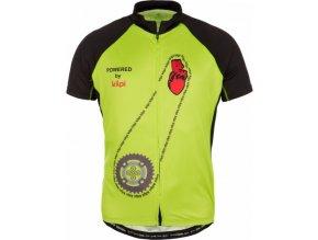 Pánský cyklistický dres TORQUE-M Světle zelená
