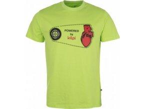 Pánské tričko KILPI CHAIN-M Zelená