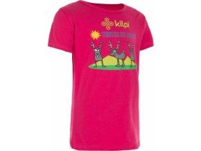 Dívčí tričko KILPI AMAKA-J Růžová