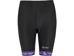 Dámské cyklistické kraťasy KILPI PRESSURE-W fialová