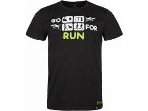 Pánské bavlněné tričko GORUN-M KILPI Černá