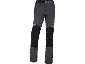 Dámské funkční kalhoty KILPI HIGHLANDER-W Tmavě šedá