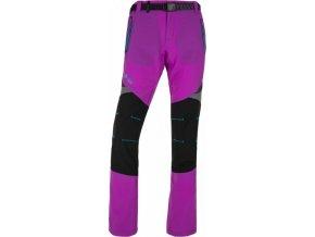 Dámské funkční kalhoty KILPI HIGHLANDER-W Fialová