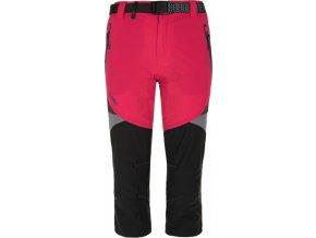 Dámské 3/4 kalhoty KILPI TERRAIN-W Růžová