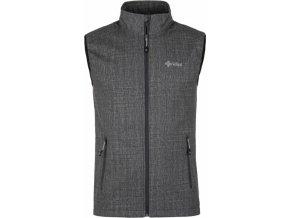 Pánská softshellová vesta KILPI TOFANA-M Melange