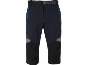 Pánské funkční 3/4 kalhoty KILPI TERRAIN-M tmavě modrá