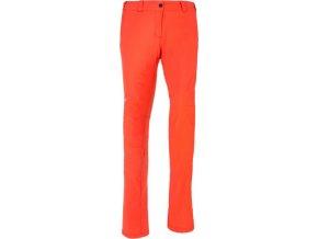 66834 damske technicke kalhoty kilpi umberta w oranzova