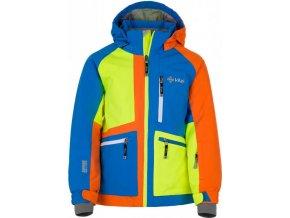 Chlapecká lyžařská bunda KILPI JACKYL-JB Modrá