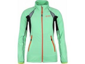 Dámská technická strečová bunda KILPI NORDIM-W Světle zelená