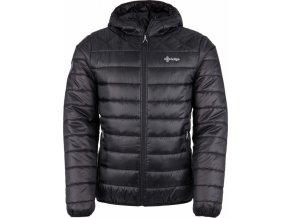 Pánská zimní prošívaná bunda KILPI FITZROY-M Černá