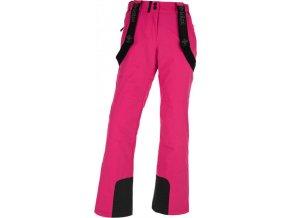 Dámské lyžařské kalhoty KILPI ELARE-W Růžová