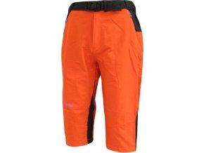 Pánské outdoorové 3/4 kalhoty KILPI LEGON I. tmavě oranžová