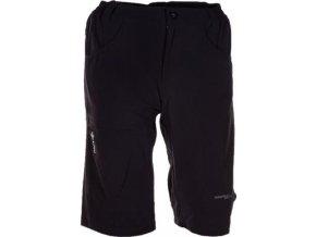 Pánské lehké softshellové šortky KILPI PELL II. černá