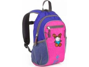 Dětská batoh KILPI FIRST 10 litrů Růžová