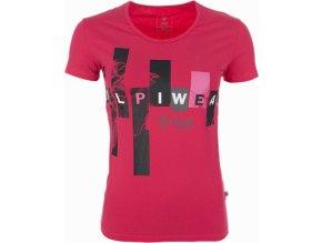 Dámské tričko KILPI JANA Růžová