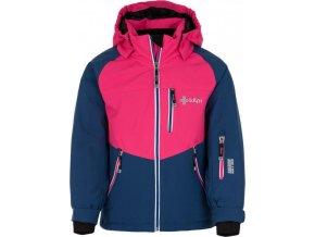 Dívčí lyžařská bunda KILPI MONTANA-JG Tmavě modrá