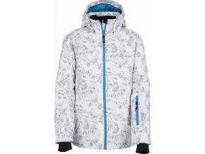 Dívčí zimní bunda KILPI GENOVESA-JG Bílá