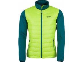 Pánská bunda KILPI BAFFIN-M Světle zelená