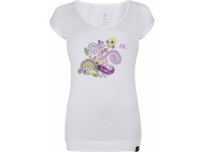 Dámské tričko KILPI LINDA-W Bílá