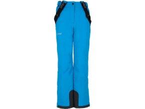 Dívčí zimní kalhoty KILPI EUROPA-JG  Světle modrá