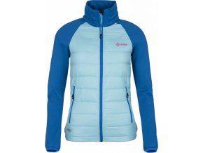 Dámská lehká strečová bunda KILPI BAFFIN-W Světle modrá