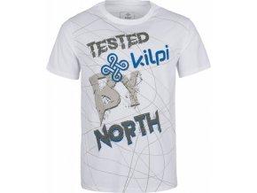 Pánské tričko KILPI TYPOS-M Bílá