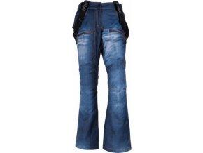 Dámské snowboardové kalhoty KILPI JEANSTER-W Modrá