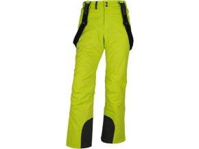 Pánské lyžařské kalhoty KILPI MIMAS-M Světle zelená 18 ab39e33d33