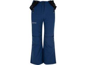 Dívčí lyžařské kalhoty KILPI EUROPA-JG  Tmavě modrá