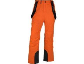 Pánské lyžařské kalhoty KILPI MIMAS-M Oranžová 18