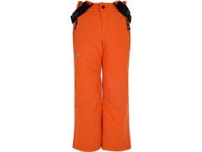 Chlapecké lyžařské kalhoty KILPI METHONE-JB Oranžová