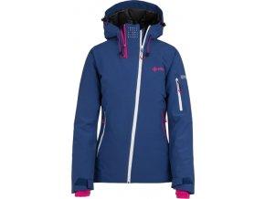68538 damska zimni technicka bunda kilpi asimetrix w tmave modra 18
