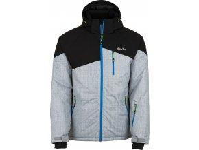 Pánská lyžařská bunda KILPI OLIVER-M Světle šedá 18