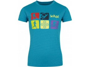 Dámské funkční tričko SANDORA-W KILPI Modrá