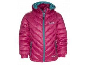 Dívčí zimní streetová bunda KILPI BRASKI-K Růžová