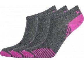 Kotníkové ponožky KILPI AVRAHAM  Růžová
