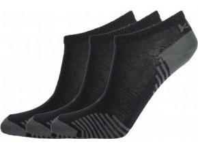 Kotníkové ponožky KILPI AVRAHAM Černá