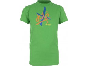 Dětské chlapecké tričko KILPI SKYLLAR - K Zelená