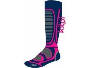Dívčí lyžařské ponožky KILPI ANXO-J Růžová