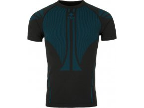 Unisex bezešvé funkční tričko KILPI LEAPE-U Černá