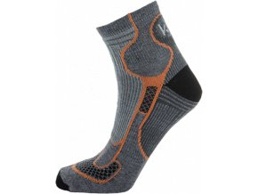 Pánské ponožky KILPI MIDDLE-M Hnědá