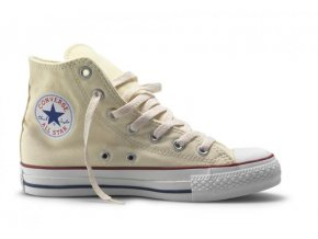 Kotníkové boty Converse CHUCK TAYLOR ALL STAR HI Cream
