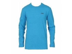 Pánské triko s dlouhým rukávem Loap EARLES Světle modrá