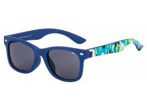 Dětské sluneční brýle Relax Langli R3075B rubber modrá, maskáčová
